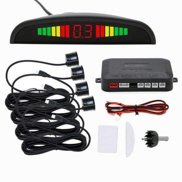 Σύστημα-Παρκαρίσματος-4-Σημείων-Με-Ψηφιακή-Οθόνη-LED