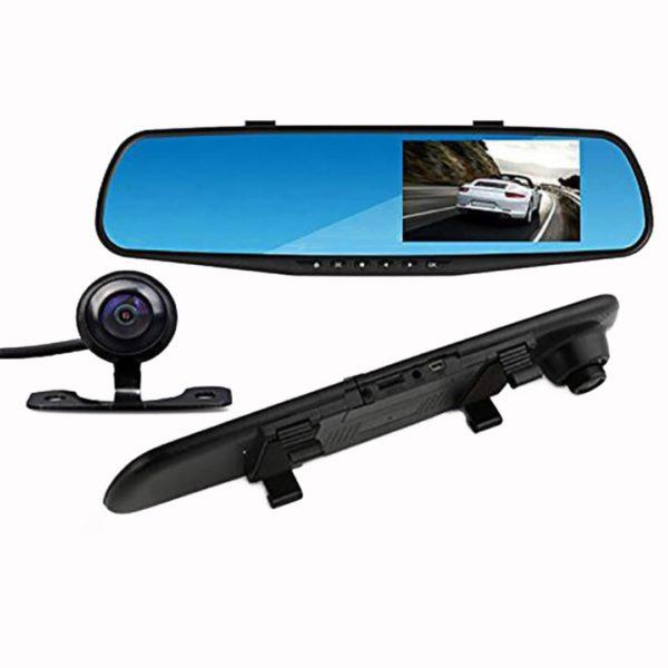 Καθρέφτης με καταγραφικό αυτοκινήτου με 2 κάμερες (εμπρός και πίσω)