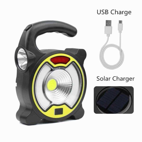 USB LED Επαναφορτιζόμενος Φακός