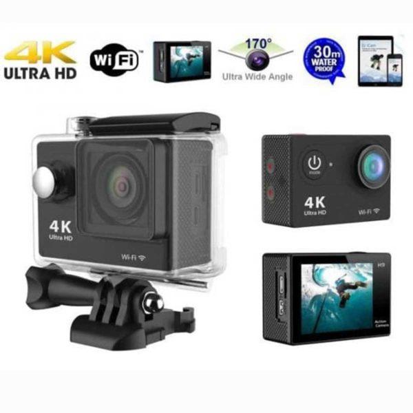 Αδιάβροχη Action Camera Ultra HD 4K WiFi Με Οθόνη 2.0″