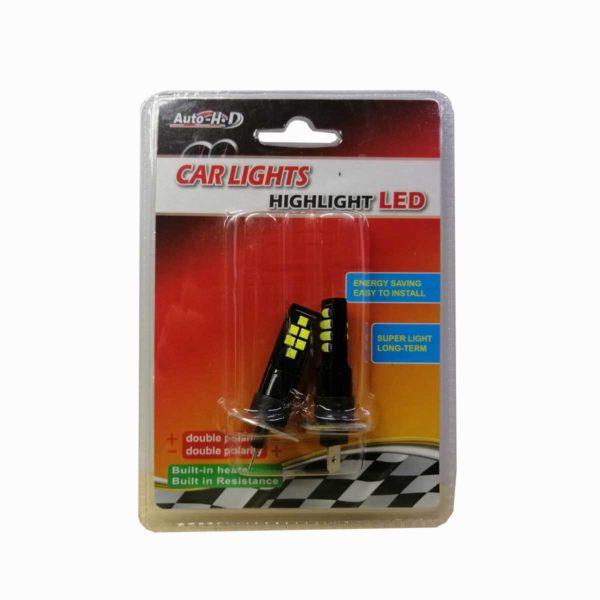 Λαμπτήρας LED H1 Με 12 SMD LED 10-30v 6000K