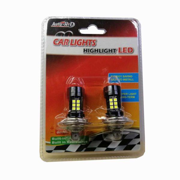 Λαμπτήρας LED H7 Με 27 SMD LED 10-30v 6000K