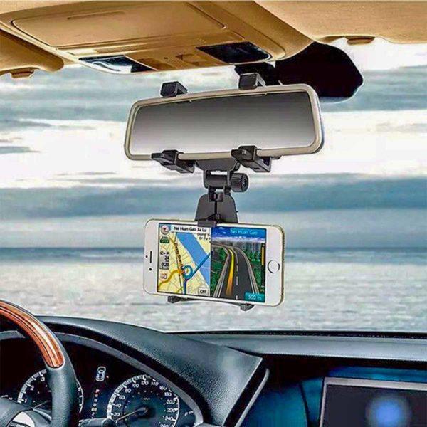 Βάση Στήριξης Κινητών Που Τοποθετείται Στον Καθρέπτη Του Αυτοκινήτου