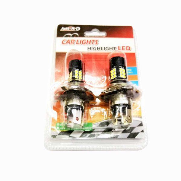 Λαμπτήρας LED H4 Με 48 SMD LED 10-30v 6000K