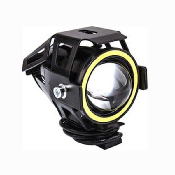 Αδιάβροχος Προβολέας Μοτοσυκλέτας Cree LED U7 Angel Eye Με Λευκό Φως